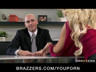 cheating large tit blond wife bonks salesmans