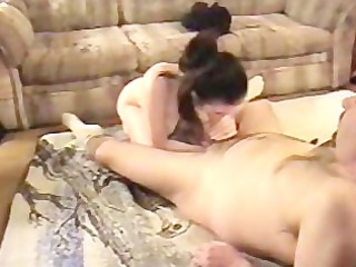 homemade free movie of real pair fucking on floor