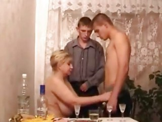 milfs in hot three-some act