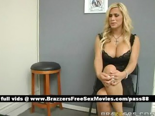 superb blond girl arrive at airport customs