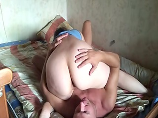 russian aged pair at home 10