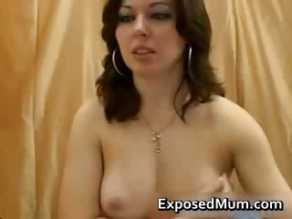 milf caught recording live webcam solo part7