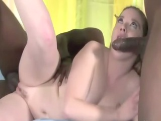 obese aged enjoys darksome slongs in her face hole