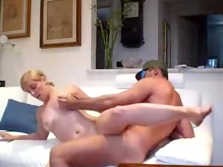 fucking blond wife for facial movie scene