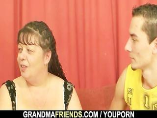 chaps group sex plump mature