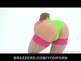 sexy big butt latin slut in bikini enjoys hard