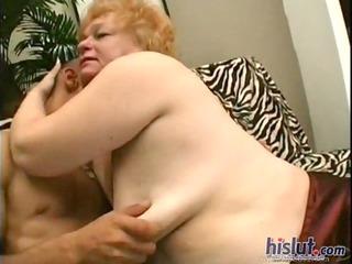 this grandma desires penis