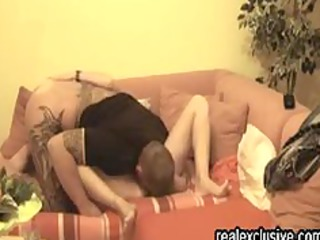 pair from germany cumming on our daybed