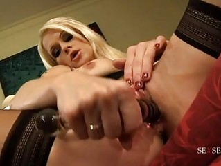 randy golden-haired mother i in tight darksome