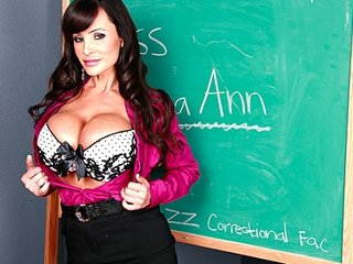 large tit mother i lisa ann is double-penetrated