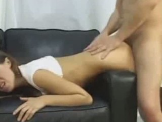 wife heather giant rod anal and cum in face hole