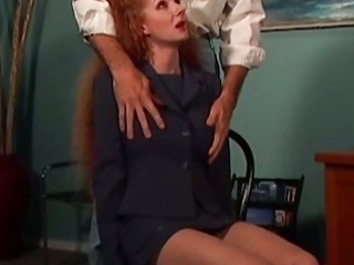 redhead mamma abused by the neighbor