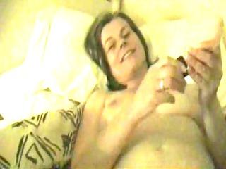 wife lets me film her masturbate