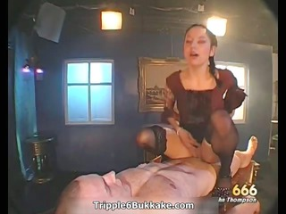 wicked brunette doxy gets horny riding