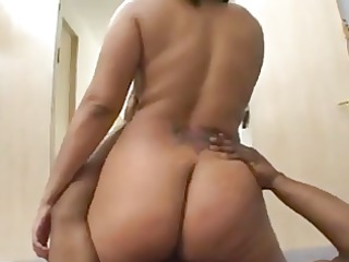 redbone acquires her kewl arse smashed!