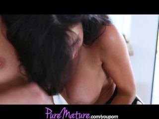 puremature mamma and her girlfriend fuck