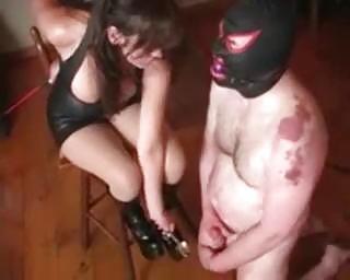 extraordinary milf perverted balls slavery