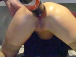 movie scene of a granny doing crazy anal