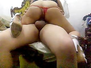 con mi negra viviana - with my brunette viviana 10