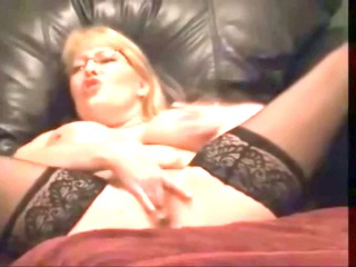 breasty milf with glasses squirting