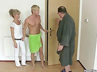 his mamma and dad tricks her into sex