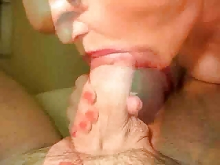 mature sucks and swallows