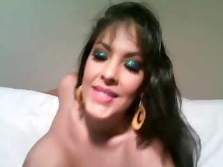 hawt brunette milf nina mercedez reveals her