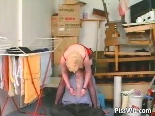mature blond slut sucks rod and receives part10
