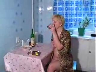 drunk aged mommy screwed by young son