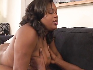bulky breasty ebony d like to fuck in fishnets