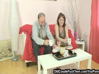sex invitation from old pair