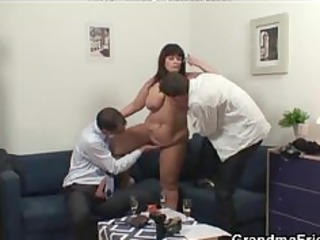 two guys fucking mature bbw lady older mature