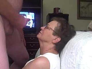 granny gets a facial