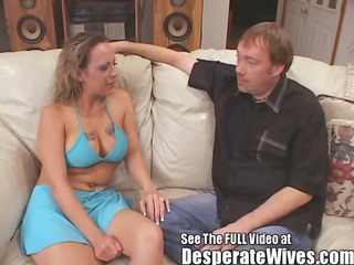 slut wife donna eating sexy cum loads like a good
