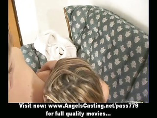 three superb adorbale lesbo gals gets their