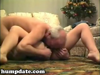 excited older sweetheart sucks and rides ramrod