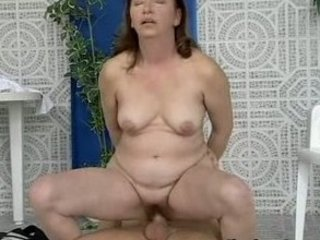 mamas red hairypussy pounded