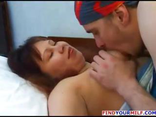 busty dark brown russian mother i elena trades