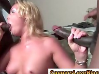 see interracial aged whore take large darksome