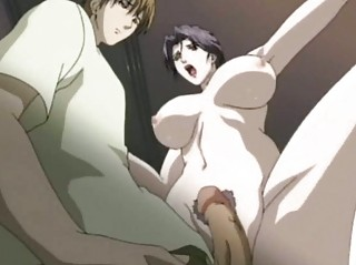 manga milf sucking a schlong and drinking semen