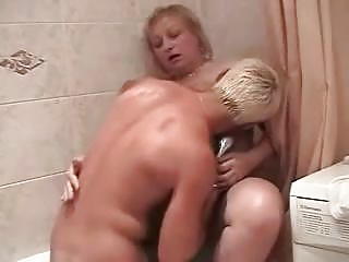 corpulent russian granny