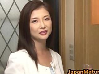 chisa kirishima aged oriental lady shows part0