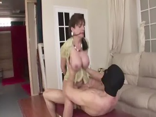 older stocking brit sonia slavery fuck and cumshot