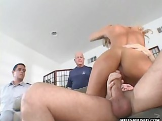 this hawt blonde mother i is engulfing and fucking