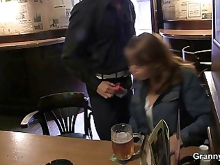 she is is picked up in the bar and fucked
