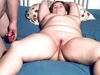corpulent dilettante milf toyed and oral sex with