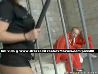 enjoyable redhead prison guard