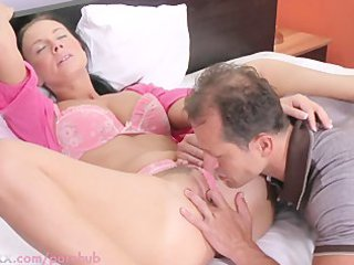 mama hd breasty housewife needs her fur pie licked
