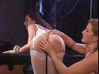 sexy hottie sex toy bonks the redhead serf