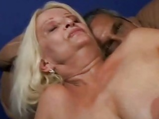 bigtits granny bent over and fucked from behind
